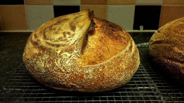 Barmy dark rye, barley adn white 01.08.2016 loaf 2